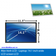 Man hinh LCD laptop -14.1 inch wide