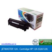 Mực in HP 12A – Cartridge HP 12A (Q2612A) – JET