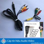 Cable-AV-RCA-CVBS-YPbPr
