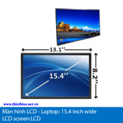 Man hinh LCD laptop-15.4 inch wide